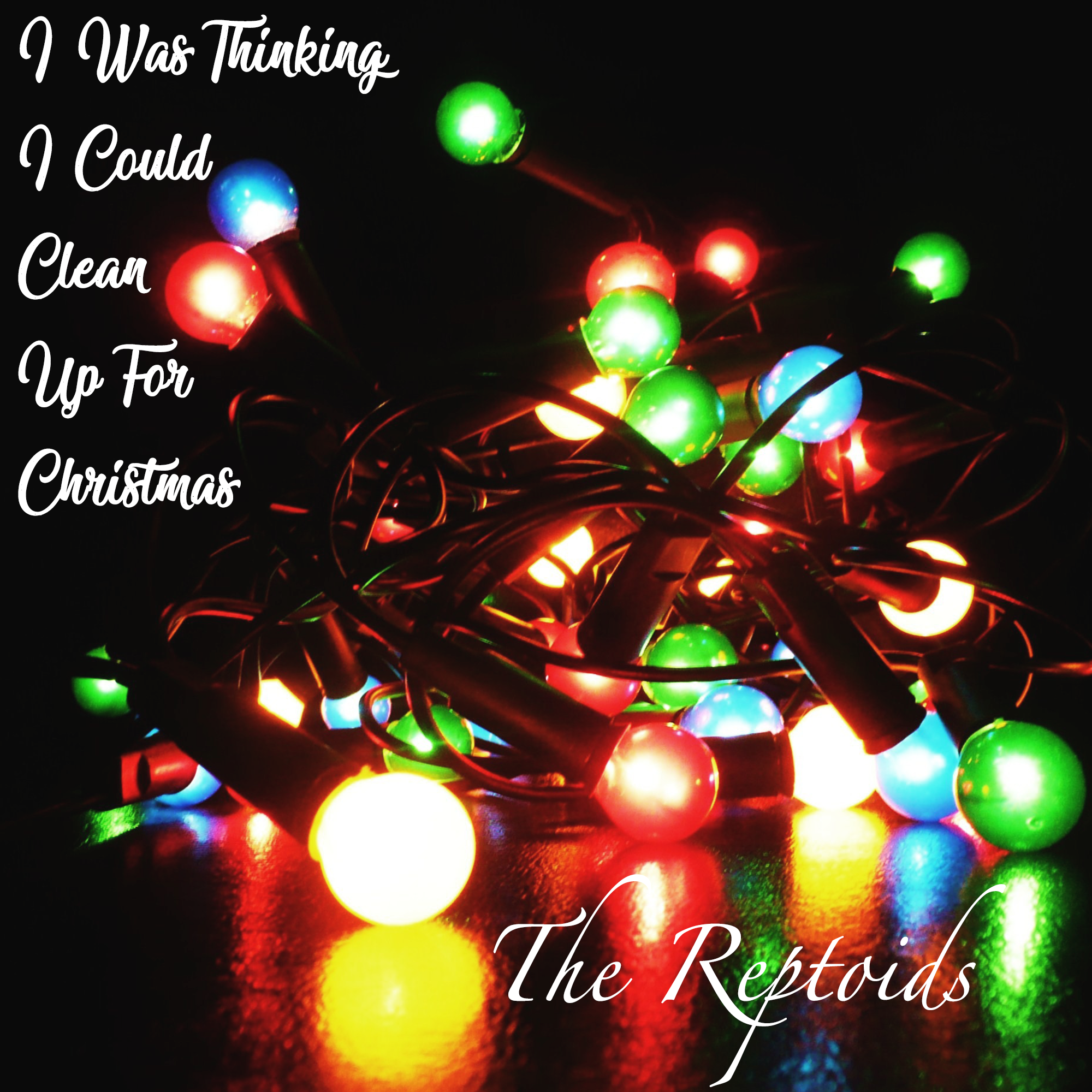 I Was Thinking I Could Clean Up For Christmas Cover Art