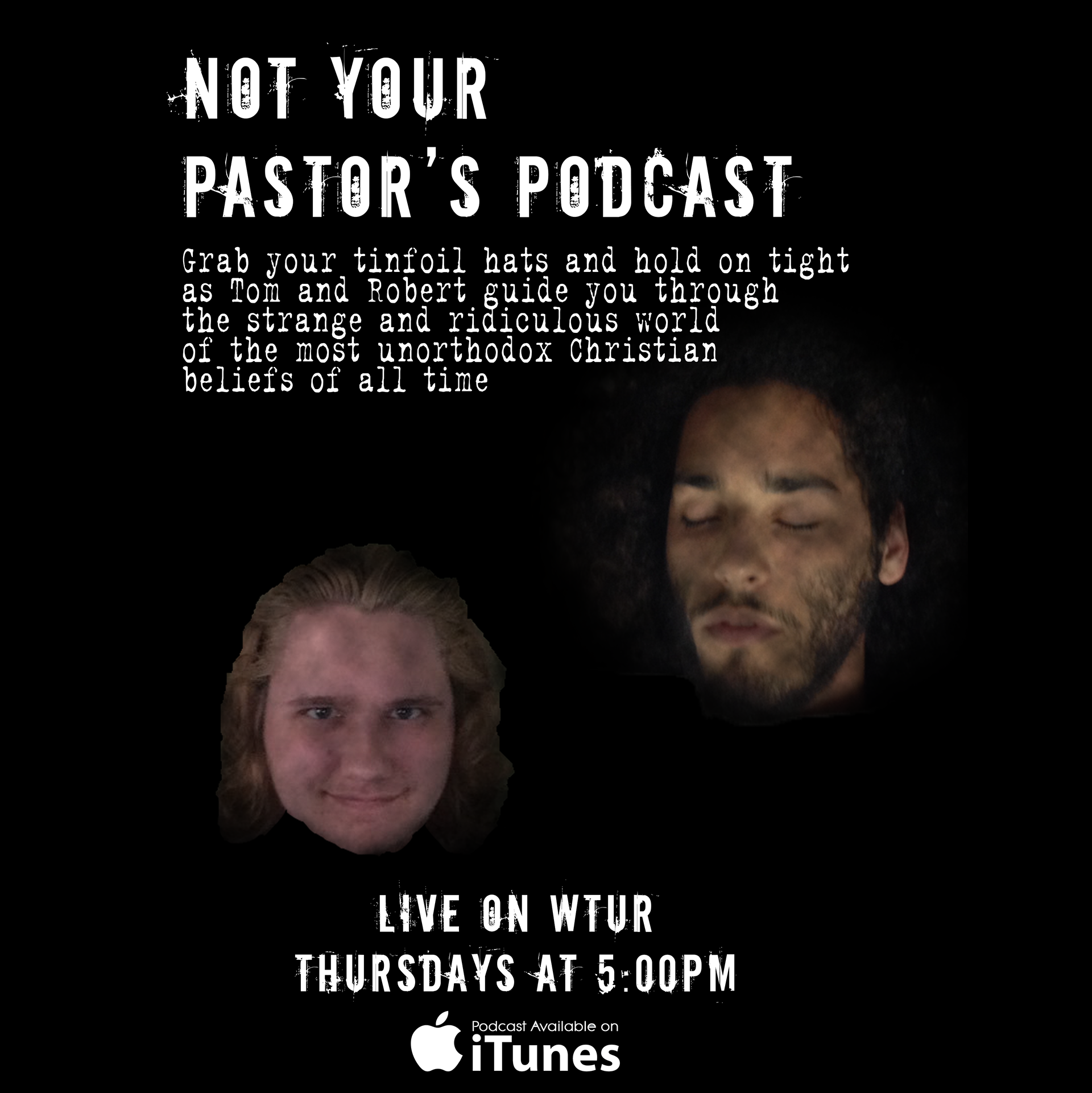 Not Your Pastor's Podcast Poster
